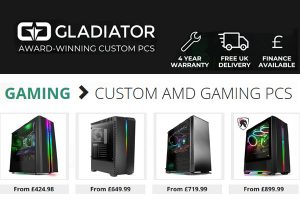 Custom AMD Gaming PC UK