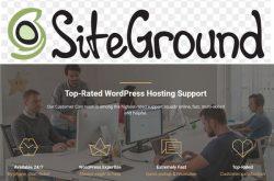 SiteGround UK WordPress Hosting